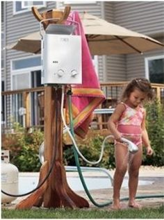 here are some other outdoor showers set up with our eccotemp l5 - How To Build An Outdoor Shower